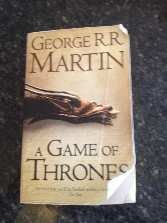 A Game of Thrones - Front Cover