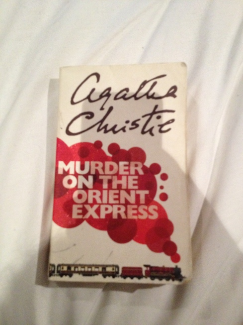 Murder on the Orient Express - Front Cover